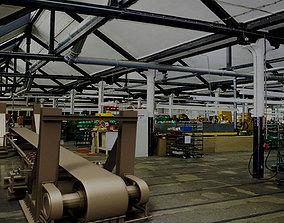 Mechanical Cement Conveyor 3D model