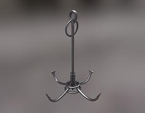 3D model Boarding Anchor