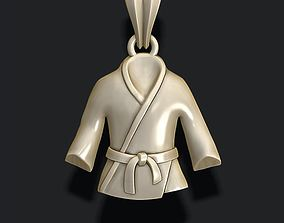 3D print model Kimono pendant