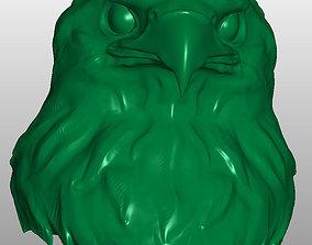 statue 3D print model Eagle head