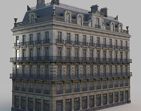 historical 3D model French residence