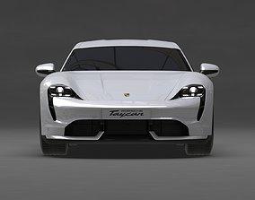 Porsche Taycan 2020 No Interior 3D model