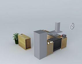 Amsterdam, the kitchen 3D model