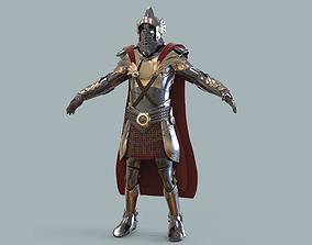3D model Medieval armour fantasy game
