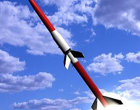 3D Astrobee 200 Rocket