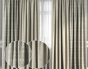 Curtain Set 149 3D model