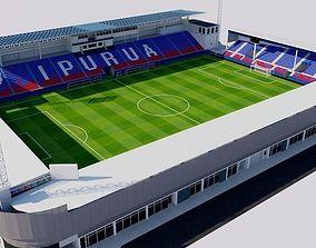 3D model Ipurua Estadio - Eibar