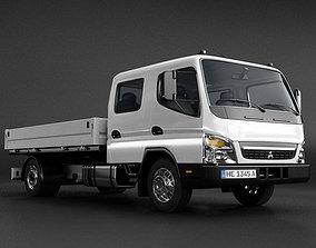 Mitsubishi Fuso FE160 Crew Cab Truck 3D