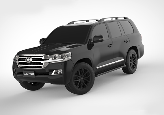 Toyota Land Cruiser 4WD 2018