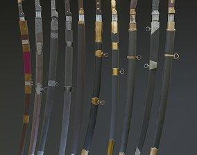 Cossack blades 3D model