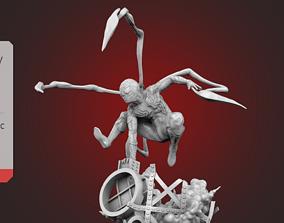 Spider-Man Explosion Scene 3D print model
