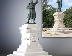 3D Statue of Stefan cel Mare si Sfant