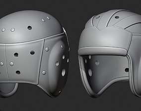 3D printable model 1930s Leather Football Helmet