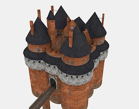 XVth century French Castle 3D