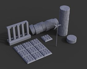 3D print model Dungeon Pack - Props Wargaming