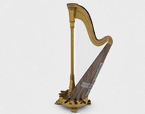 3D musical instrument harp