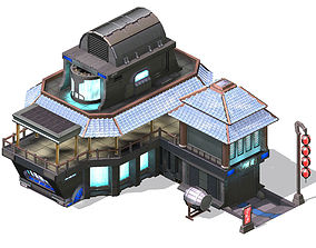 3D model Future World - Bar 01