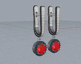 3D printable model Earrings Laura