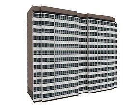 3D model Simple Residential Building 5