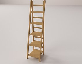 Ladder Shelf cabinet 3D