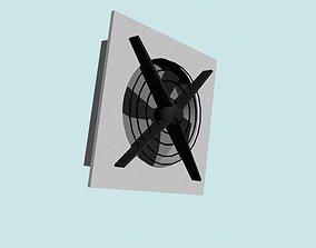 3D model fan supply