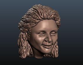 3D print model Woman Head 10 girl