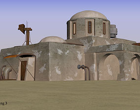 Tatooine building 3 3D model