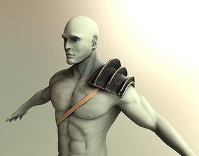 realtime Shoulder-armor model
