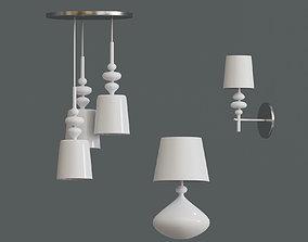 Set White Light 3D