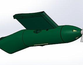 C 130 refueling pod 3D model