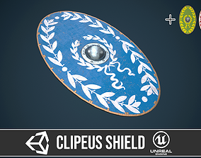 3D model Roman shield clipeus 4