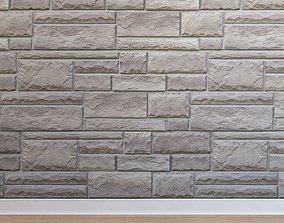 3D asset Artificial stone Stone 005