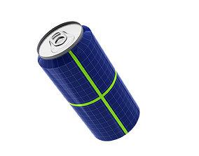 3D Aluminium Can - Energetic Beer Soft Drink - Lata de 1