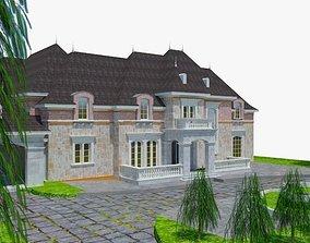 Victorian Mansion LXI 3D asset