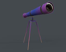 Stylized Telescope V1 - 03 3D model