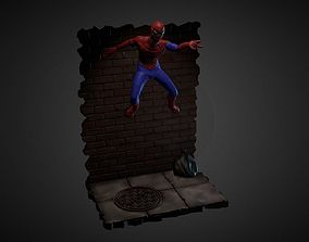SPIDER-MAN INSPIRITED DIORAMA 3D print model