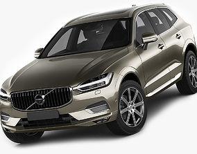 3D Volvo XC60 2018