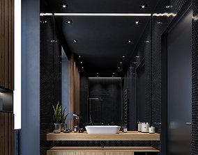 Modern Bathroom 3D model handsoap