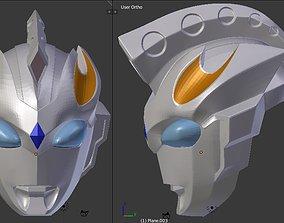 Ultraman Z Gamma Future 3D printable helmet