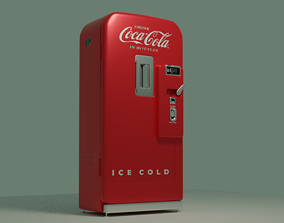 3D model Vendo V-39 vending machine