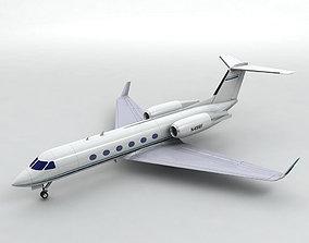 3D model Gulfstream IV Aircraft