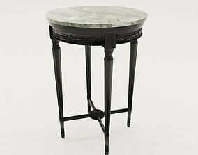 3D model Salon table of classicistic style - France about
