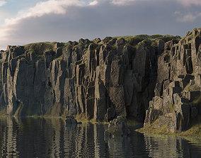 3D model Modular cliffs and rocks