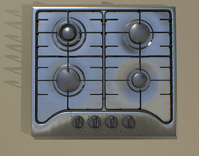 Kitchen Cooktop 3D asset