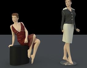 3D model body shape for trade fair
