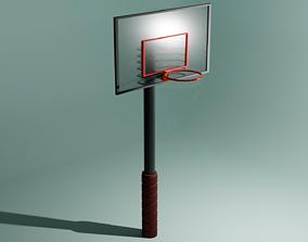 Basket Ball Hoop 3D model