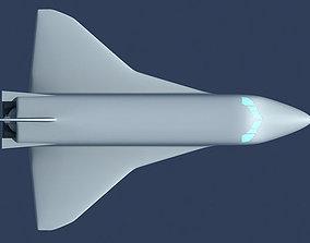 rocket 3D Buran Space Shuttle
