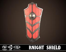 3D model Knight Shield 03