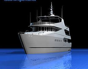 3D model watercraft Yacht
