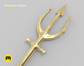 Aquaman - Trident of Poseidon 3D print model